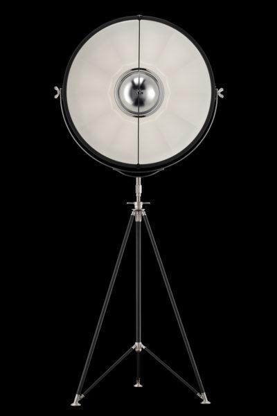Fortuny Studio 76 Stehleuchten Schwarz und Weiß