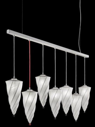 Fortuny Cesendello Cocoon Lampe an einer Stange