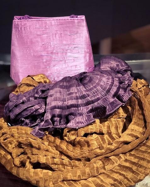 Plissee Venetia Studium Tasche und Schals