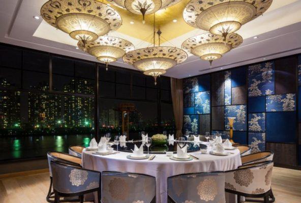Scheherazade Fortuny im Y2C2 Restaurant in Shanghai
