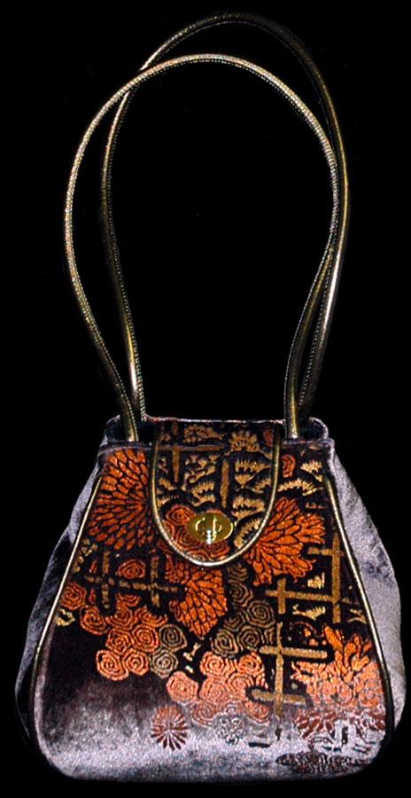 Fortuny Moretta 903 bedruckte Samttasche