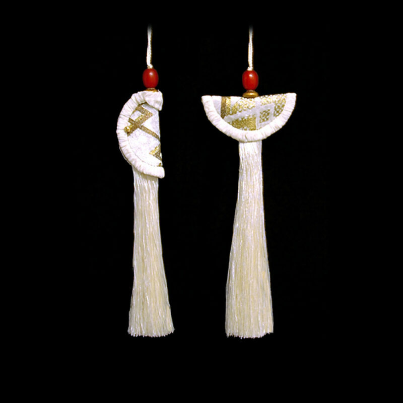 Geisha &Samurai Schlüsselquasten